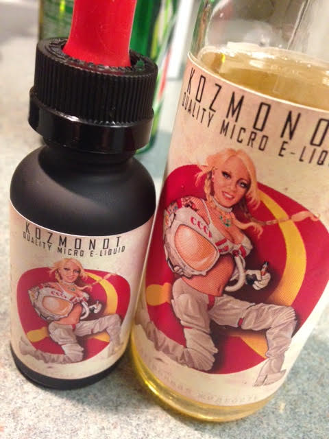 picture of pinup art used as product label